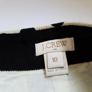 J. Crew Skirts - J.Crew polka dot mini skirt